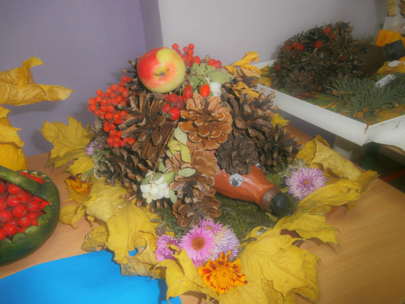 Поделки в садик дары осени фото и